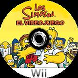 Los Simpson: El Videojuego Wii disc (RSNX69)