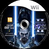 Star Wars: El Poder de la Fuerza II Wii disc (SF2P64)