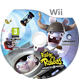 Raving Rabbids: Regreso al Pasado Wii disc (SR4P41)