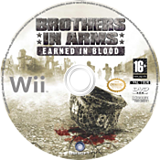 Brothers in Arms : Earned in Blood disque Wii (RB5P41)