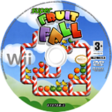 Super Fruit Fall disque Wii (RF4P6M)