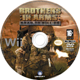 Brothers in Arms:Road to Hill 30 disque Wii (RI8P41)