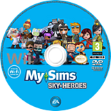 MySims Sky Heroes disque Wii (RJ6P69)