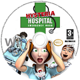Hysteria Hospital: Emergency Ward disque Wii (RJVPGN)