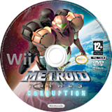 Metroid Prime 3:Corruption disque Wii (RM3P01)