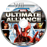 Marvel:Ultimate Alliance disque Wii (RMUP52)