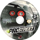 Need for Speed : ProStreet disque Wii (RNPP69)