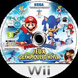 Mario & Sonic aux Jeux Olympiques d'Hiver disque Wii (ROLP8P)
