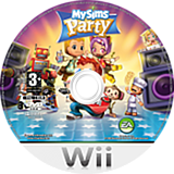 MySims Party disque Wii (RP4P69)
