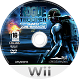 Rogue Trooper : Quartz Zone Massacre disque Wii (RRYPHY)