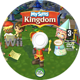MySims Kingdom disque Wii (RSHP69)