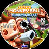 Super Monkey Ball:Banana Blitz disque Wii (RSMP8P)