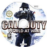 Call of Duty : World at War disque Wii (RVYP52)