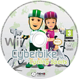 Cyberbike disque Wii (SCBPNK)