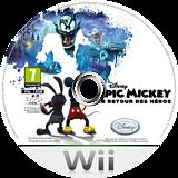 Disney Epic Mickey:Le Retour des Héros disque Wii (SERF4Q)