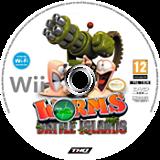 Worms Battle Islands disque Wii (SILP78)