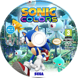 Sonic Colours disque Wii (SNCP8P)