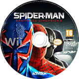 Spider-Man : Dimensions disque Wii (SPDP52)
