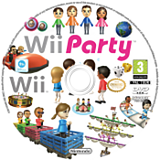 Wii Party disque Wii (SUPP01)