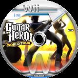 Guitar Hero 4: World Tour Wii disc (SXAP52)