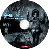 Silent Hill: Shattered Memories Wii disc (R5WJA4)