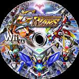 SDガンダム Gジェネレーション ウォーズ Wii disc (R77JAF)