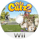 にゃんこと魔法のぼうし Wii disc (RC3J41)