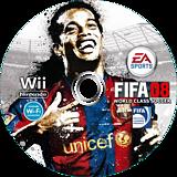 FIFA 08 ワールドクラス サッカー Wii disc (RF8J13)