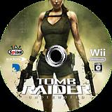 トゥームレイダー アンダーワールド Wii disc (RH8JEL)