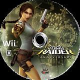 トゥームレイダー アニバーサリー Wii disc (RLRJEL)