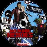 ノーモア★ヒーローズ Wii disc (RNHJ99)