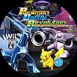 ポケモンバトルレボリューション Wii disc (RPBJ01)