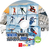 WINTER SPORTS 2009 - THE NEXT CHALLENGE Wii disc (RRUJJF)