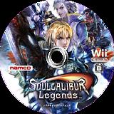 ソウルキャリバーレジェンズ Wii disc (RSLJAF)