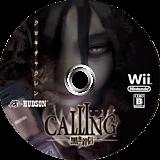 CALLING ~黒き着信~ Wii disc (SCAJ18)