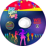 Just Dance Wii 2 Wii disc (SJDJ01)