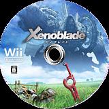 ゼノブレイド Wii disc (SX4J01)
