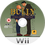 Bully: Scholarship Edition Wii disc (RB7P54)