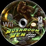 Mushroom Men: The Spore Wars Wii disc (RM9PGM)