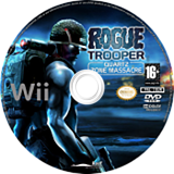 Rogue Trooper: Quartz Zone Massacre Wii disc (RRYPHY)