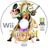 Disney Rapunzel Wii disc (SRPP4Q)