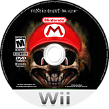 Mario Kart Wii Black CUSTOM disc (CKBE88)