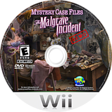 Mystery Case Files: The Malgrave Incident (Demo) Wii disc (DAVE01)