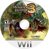 Monster Hunter Tri (Demo) Wii disc (DMHE08)