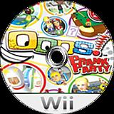 Oops! Prank Party (Demo) Wii disc (DPIE18)