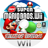 New Super Mario Bros. Wii: Hellboy Edition CUSTOM disc (HBWE01)