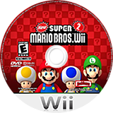 New Super Mario Bros. Wii 2 CUSTOM disc (NSMB02)