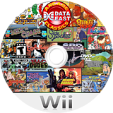Data East Arcade Classics Wii disc (R26E5G)