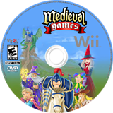 Medieval Games Wii disc (R2OE68)