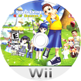 Super Swing Golf Season 2 Wii disc (R2PE9B)